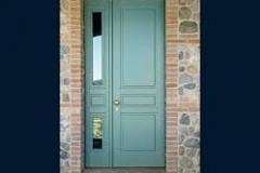 porta blindata due ante finitura - colore personalizzati