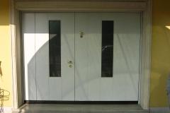 basculante con porta vetrata